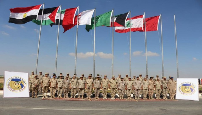 انطلاق تمرين درع العرب في مصر بمشاركة 8 دول