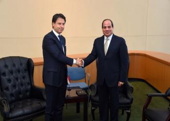 مصر وإيطاليا تبحثان الأوضاع في ليبيا قبل مؤتمر باليرمو