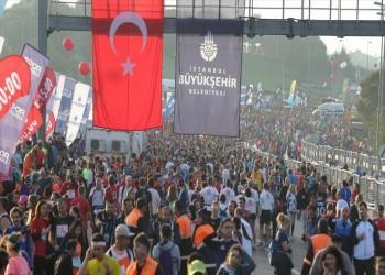 انطلاق ماراثون فودافون إسطنبول بمشاركة 100 دولة