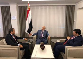 الرئيس اليمني يظهر لأول مرة منذ توجهه لأمريكا للعلاج