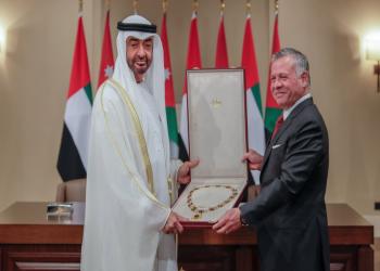 محمد بن زايد يشيد بالدور المحوري والمهم للأردن