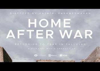فيلم العودة بعد الحرب يسرد مأساة سكان الفلوجة