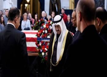 ممثل أمير الكويت يصل إلى واشنطن لحضور جنازة بوش الأب