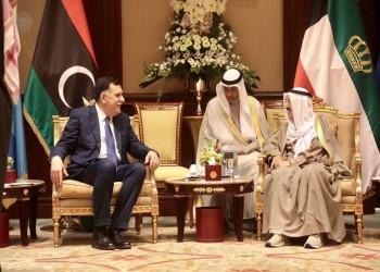 أمير الكويت والسراج يبحثان الأوضاع الليبية