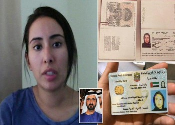 أسرة ابنة حاكم دبي التي حاولت الهرب تصدر بيانا