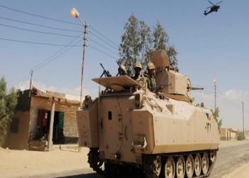 مقتل وإصابة 25 من عناصر الجيش المصري شمالي سيناء