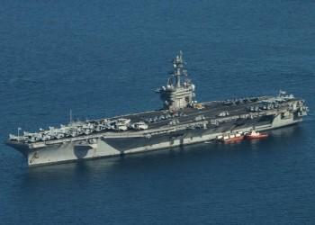 إيران تطلق صواريخ باتجاه حاملة طائرات أمريكية في الخليج