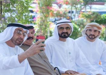 بن زايد يستقبل ملك البحرين ويلتقط معه سيلفي