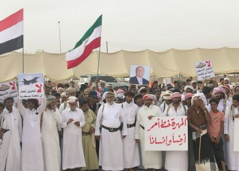 السعودية تستحدث نقطة عسكرية تحسبا لاحتجاجات شعبية بالمهرة اليمنية