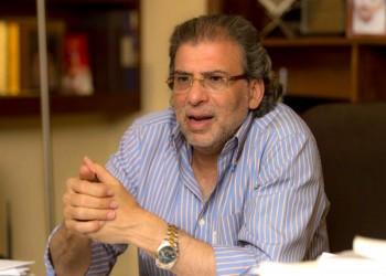 خالد يوسف ينفي وجود صفقة مع السيسي حول التعديلات الدستورية