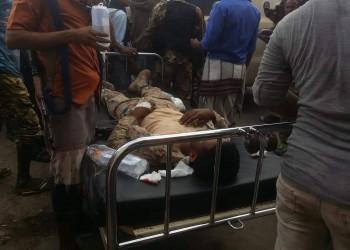 6 قتلى بهجوم طائرات مسيرة حوثية على عرض عسكري للجيش اليمني