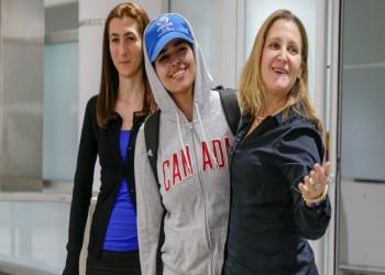 كندا ترحب بالفتاة السعودية رهف وتصفها بالشجاعة