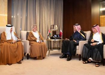 قطر وعمان تبحثان تعزيز التعاون الخليجي المشترك