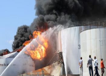 رويترز: انفجار صهريج نفط ثان في عدن وإصابة 6