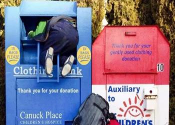 سيدة كندية تلقى حتفها بعد وقوعها بصندوق لجمع التبرعات