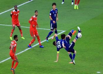 كأس آسيا.. عمان تسقط أمام اليابان وتعقد آمالها
