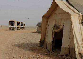 نازحة سورية تحاول الانتحار حرقا بمخيم على حدود الأردن