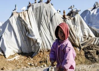 وفاة 15 طفلا سوريا من البرد القارس بمخيم الركبان