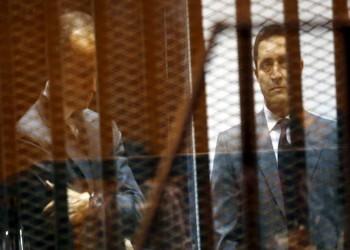 تأجيل محاكمة نجلي مبارك في قضية التلاعب بالبورصة