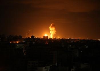 غارة إسرائيلية على موقع لحماس شمالي غزة