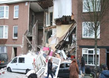 انفجار في لاهاي يؤدي لانهيار منازل وأنباء عن عالقين