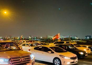فيضان بشري في شوارع الدوحة احتفالا بالتأهل لنهائي آسيا