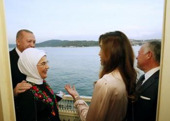 أمينة أردوغان تشكر العاهل الأردني وعقيلته على زيارة تركيا