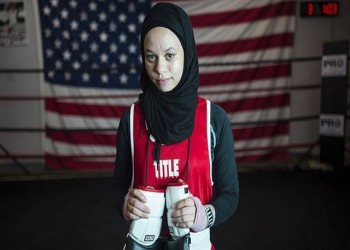 أمية ظافر.. مسلمة غيرت قواعد الاتحاد الأمريكي للملاكمة