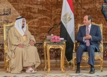 السيسي وحاكم الشارقة يبحثان الدعم الإماراتي لمصر