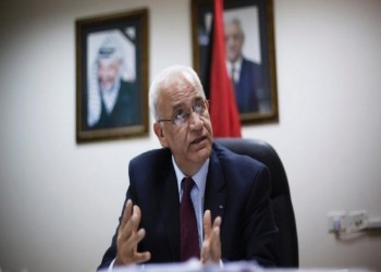عريقات: واشنطن تتبنى مواقف اليمين المتطرف بإسرائيل
