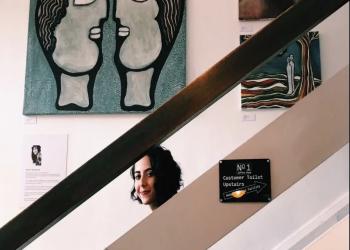 سعودية عرضت لوحاتها في اللوفر تتمنى تقديم أعمالها بالمملكة