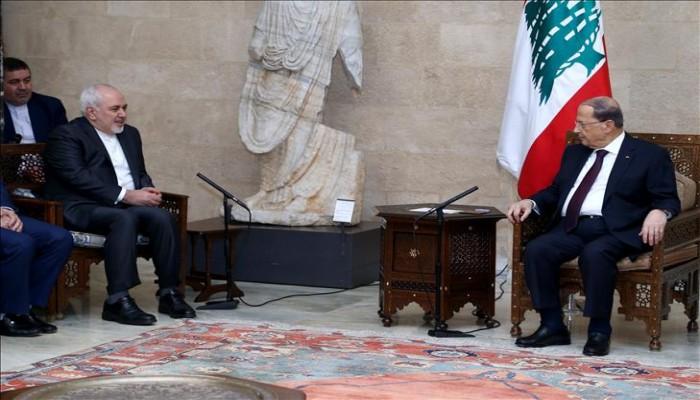 الرئيس اللبناني يطلب مساعدة إيران لإعادة اللاجئين السوريين لبلادهم