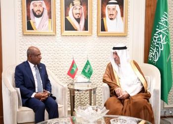 العساف يبحث مع وزير خارجية المالديف تعزيز العلاقات