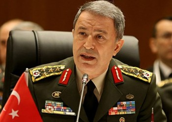 وزير دفاع تركيا: قواتنا يجب أن تكون الوحيدة بالمنطقة الآمنة