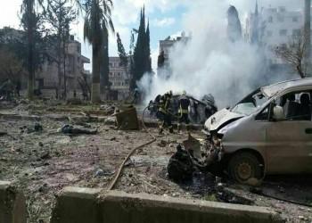 فيديو وصور.. قتلى وجرحى بتفجير مزدوج في إدلب السورية