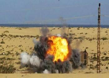 الجيش المصري يقصف أهدافا مجهولة جنوب العريش