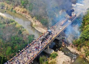 بومبيو: أدين ممارسات بلطجية مادورو في فنزويلا وأشكر كولومبيا