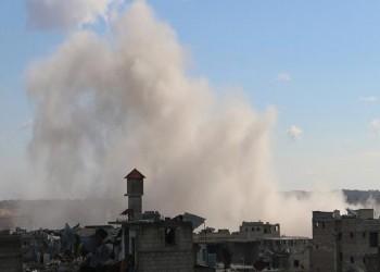 ارتفاع قتلى قصف النظام السوري لمعرة النعمان