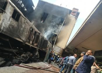 ارتفاع عدد قتلى كارثة قطار رمسيس بمصر إلى 22