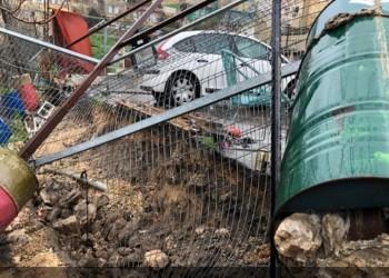 أنفاق الاحتلال تسبب انهيارات أرضية قرب الأقصى