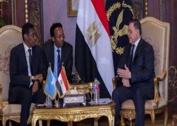 مصر والصومال توقعان مذكرة تفاهم في مجالات التعاون الأمني