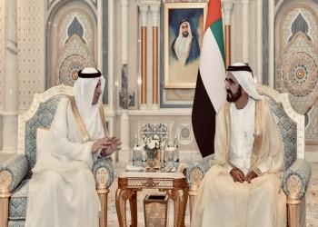 بن راشد يتسلم أوراق الدخيل سفيرا سعوديا لدى الإمارات