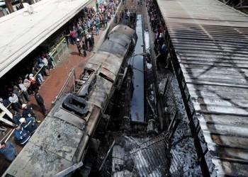 التحقيق مع رئيس سكك حديد مصر في حادث القطار المنكوب