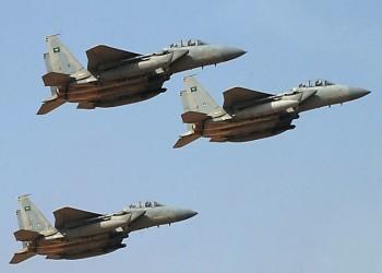 """أول ظهور للمقاتلات السعودية """"إف 15"""""""