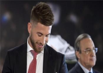 تفاصيل اشتباك راموس ورئيس ريال مدريد في غرفة الملابس