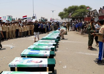 الحوثيون يعلنون مقتل 20 امرأة وطفل في غارة للتحالف العربي