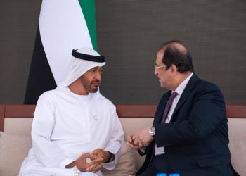 بن زايد يستقبل رئيس المخابرات المصرية