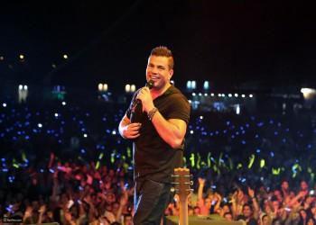 عمرو دياب يحيي حفله الثاني بالسعودية الجمعة