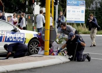 شرطة نيوزيلندا: سننتشر حتى في الهواء ليشعر الجميع بالأمان