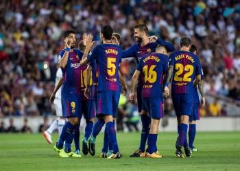 8 انتصارات تفصل برشلونة عن لقب الليغا الـ26